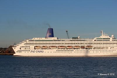 ORIANA Departing Southampton PDM 03-10-2016 17-35-09