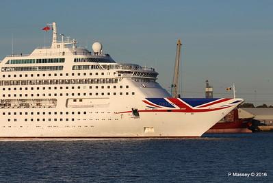 ORIANA Departing Southampton PDM 03-10-2016 17-33-35