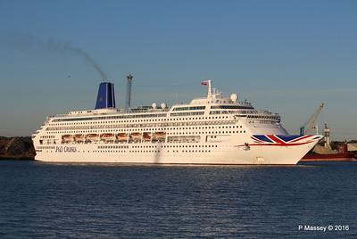 ORIANA Departing Southampton PDM 03-10-2016 17-32-51