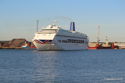 ORIANA Departing Southampton PDM 03-10-2016 17-30-21