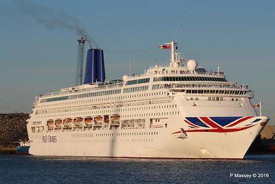 ORIANA Departing Southampton PDM 03-10-2016 17-32-04