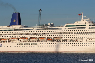 ORIANA Departing Southampton PDM 03-10-2016 17-33-37