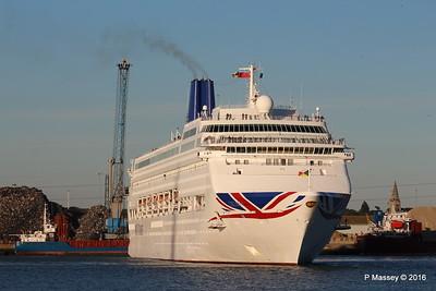 ORIANA Departing Southampton PDM 03-10-2016 17-31-32