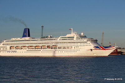ORIANA Departing Southampton PDM 03-10-2016 17-33-30