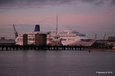 ORIANA  leaves World Cruise later Southampton PDM 03-01-2017 16-26-036