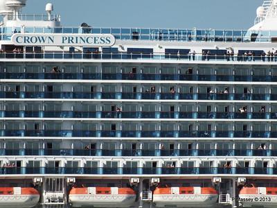 CROWN PRINCESS Departing Southampton PDM 29-06-2013 17-38-11