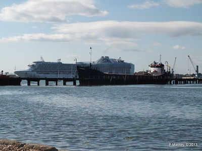 CROWN PRINCESS over Husbands Jetty CARMEL PDM 29-06-2013 17-28-23