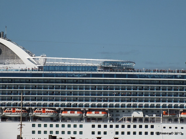 CROWN PRINCESS Departing Southampton PDM 29-06-2013 17-38-17
