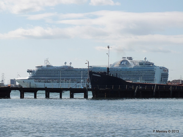CROWN PRINCESS over Husbands Jetty CARMEL PDM 29-06-2013 17-26-32