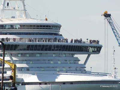 CROWN PRINCESS over Husbands Jetty PDM 29-06-2013 17-34-05