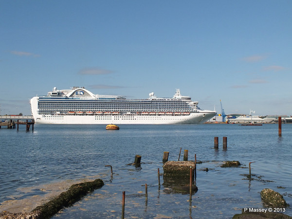 CROWN PRINCESS Departing Southampton PDM 29-06-2013 17-38-48