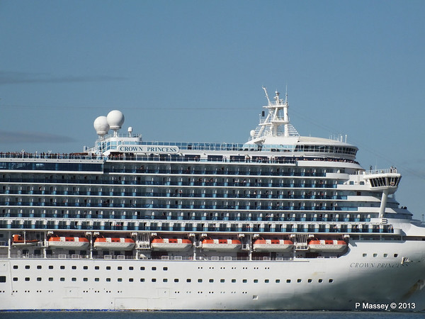 CROWN PRINCESS Departing Southampton PDM 29-06-2013 17-38-44