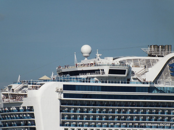CROWN PRINCESS Departing Southampton PDM 29-06-2013 17-41-01