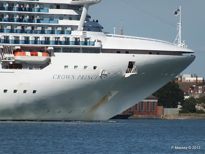 CROWN PRINCESS Departing Southampton PDM 29-06-2013 17-39-55
