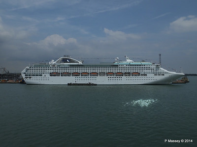 12 Jul 2014 DAWN PRINCESS