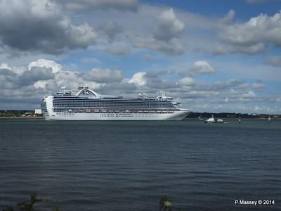 EMERALD PRINCESS Departing Southampton PDM 24-05-2014 16-53-21