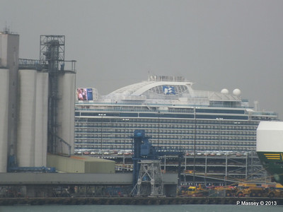 ROYAL PRINCESS over Eastern Docks PDM 07-06-2013 11-30-47