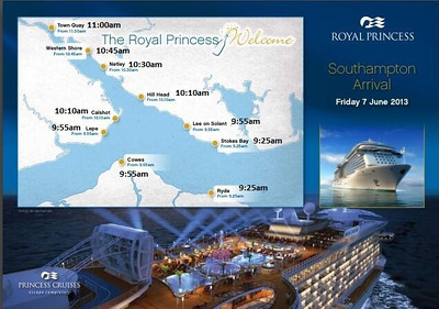 ROYAL PRINCESS_Southampton Arrival_7June2013