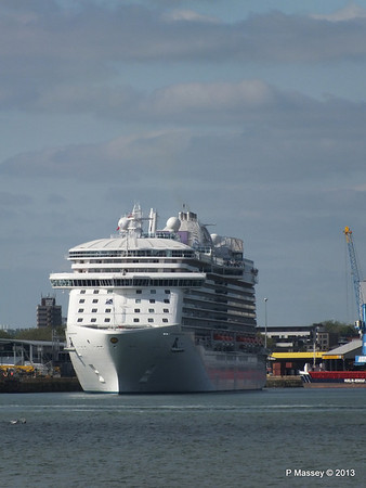 ROYAL PRINCESS Departing Southampton PDM 09-06-2013 17-12-36