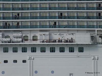 ROYAL PRINCESS Departing Southampton PDM 09-06-2013 17-22-12