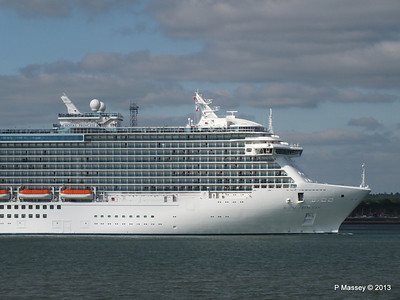 ROYAL PRINCESS Departing Southampton PDM 09-06-2013 17-21-15
