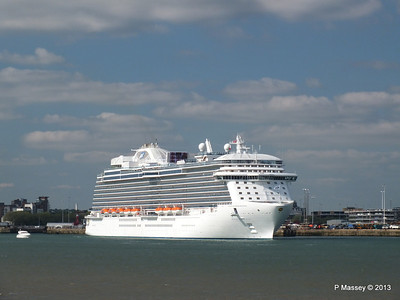 ROYAL PRINCESS Departing Southampton PDM 09-06-2013 17-17-42