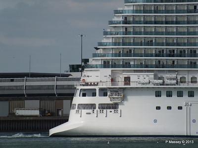 ROYAL PRINCESS Departing Southampton PDM 09-06-2013 17-21-59