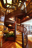 The Library Spiral Staircase QUEEN ELIZABETH Deck 2 to 3 PDM 22-07-2016 13-17-41