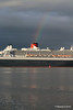 Rainbow QM2 Remastered Departing Southampton for New York PDM 23-06-2016 20-14-26