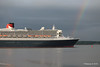Rainbow QM2 Remastered Departing Southampton for New York PDM 23-06-2016 20-13-35
