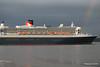 Rainbow QM2 Remastered Departing Southampton for New York PDM 23-06-2016 20-13-43