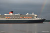 Rainbow QM2 Remastered Departing Southampton for New York PDM 23-06-2016 20-13-40