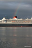 Rainbow QM2 Remastered Departing Southampton for New York PDM 23-06-2016 20-14-27