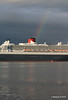 Rainbow QM2 Remastered Departing Southampton for New York PDM 23-06-2016 20-14-22