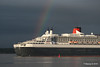 Rainbow QM2 Remastered Departing Southampton for New York PDM 23-06-2016 20-14-49