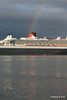 Rainbow QM2 Remastered Departing Southampton for New York PDM 23-06-2016 20-14-28