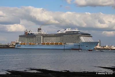 ANTHEM OF THE SEAS Departing Southampton PDM 15-08-2015 16-52-32