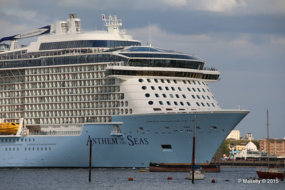 ANTHEM OF THE SEAS Departing Southampton PDM 15-08-2015 16-52-06