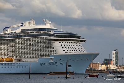 ANTHEM OF THE SEAS Departing Southampton PDM 15-08-2015 16-52-17