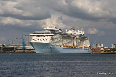 ANTHEM OF THE SEAS Departing Southampton PDM 15-08-2015 16-49-05