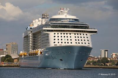 ANTHEM OF THE SEAS Departing Southampton PDM 15-08-2015 16-50-53