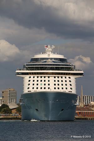 ANTHEM OF THE SEAS Departing Southampton PDM 15-08-2015 16-50-33