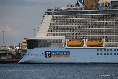 ANTHEM OF THE SEAS Departing Southampton PDM 15-08-2015 16-54-30
