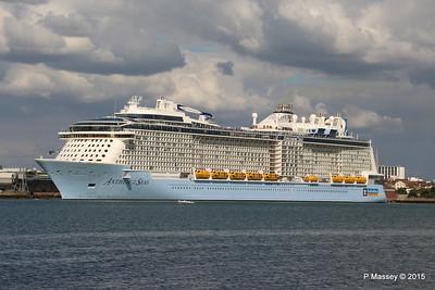 ANTHEM OF THE SEAS Departing Southampton PDM 15-08-2015 16-47-57