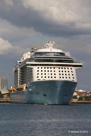ANTHEM OF THE SEAS Departing Southampton PDM 15-08-2015 16-50-47