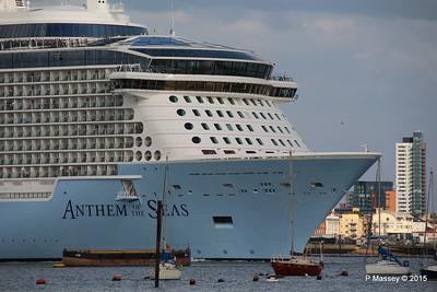 ANTHEM OF THE SEAS Departing Southampton PDM 15-08-2015 16-52-26