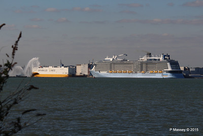 GRANDE SCANDINAVIA ANTHEM OF THE SEAS Maiden Voyage Southampton PDM 22-04-2015 17-07-34