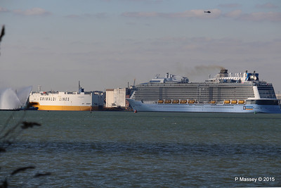 GRANDE SCANDINAVIA ANTHEM OF THE SEAS Maiden Voyage Southampton PDM 22-04-2015 17-08-42