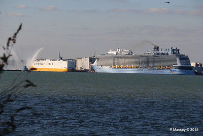 GRANDE SCANDINAVIA ANTHEM OF THE SEAS Maiden Voyage Southampton PDM 22-04-2015 17-08-003