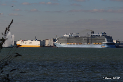 GRANDE SCANDINAVIA ANTHEM OF THE SEAS Maiden Voyage Southampton PDM 22-04-2015 17-07-44